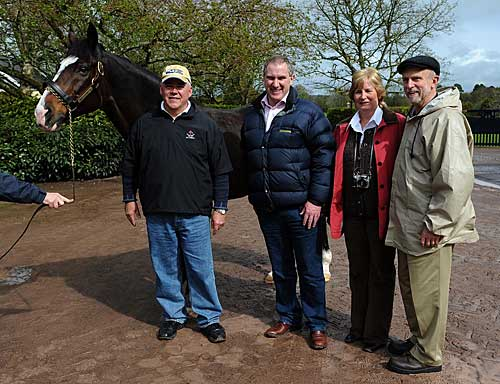 Saratoga visit to Coolmore