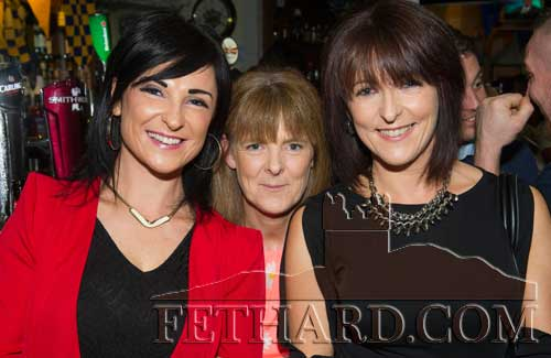 Photographed at the Benefit night at The Castle Inn, Fethard, for baby Danny Molloy are L to R: sisters Wendy, Mandy and Laura Allen.