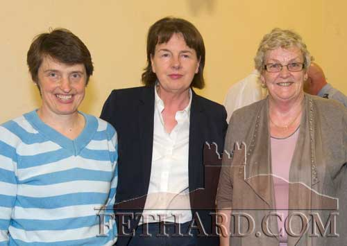 Photographed at the launch of the Cloneen & Killusty Community Text Alert Schemes in Cloneen Hall are L to R: Margaret Smyth, Mary Britton and Catherine Britton
