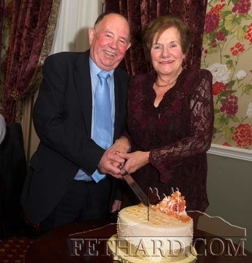 MIchael and Margaret Flanagan celebrating their 50th Wedding Anniversary last weekend