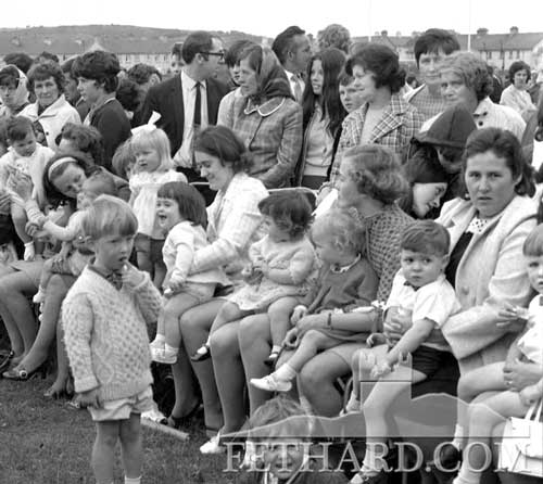 Fethard Festival Baby Show in the 1970s . . . how many faces can you pick out?