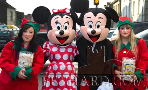 Mickey and Minnie Mouse looking forward to coming back for the 'Fethard Christmas Spree' on Friday December 11.