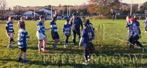 Fethard U-12 Rugby Blitz against Waterpark on November 22